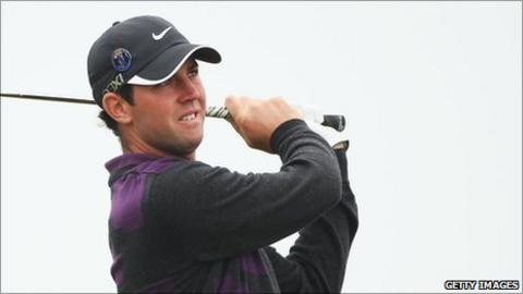 Scottish golfer Scott Jamieson