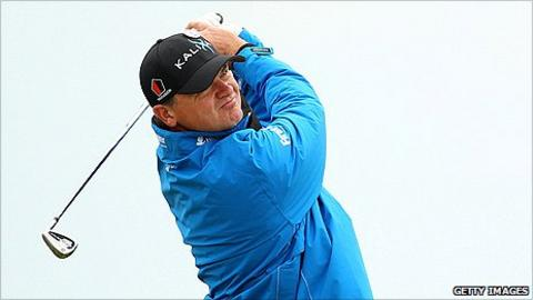 Scottish golfer Paul Lawrie