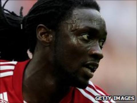 Stoke City striker Kenwyne Jones