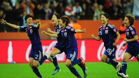 Highlights - Japan 2-2 USA (3-1 pens)