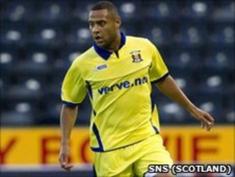 Kilmarnock striker Ben Hutchinson