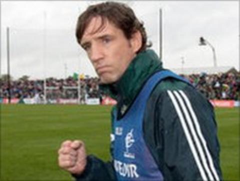 Kildare manager Kieran McGeeney