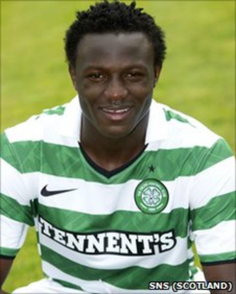 Celtic midfielder Victor Wanyama