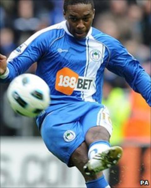 Wigan Athletic's Charles N'Zogbia