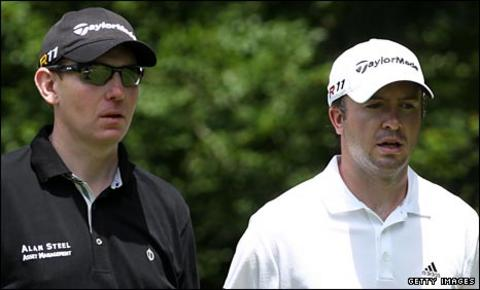 Stephen Gallacher and Martin Laird