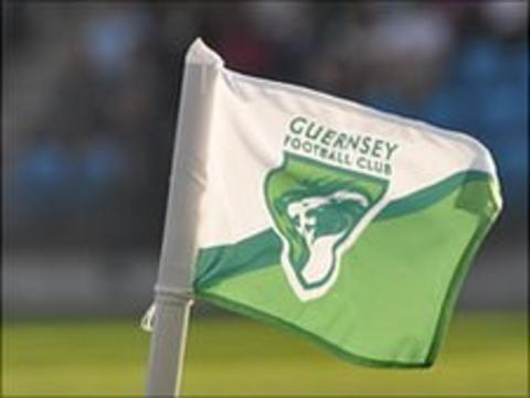 Guernsey Football Club corner flag