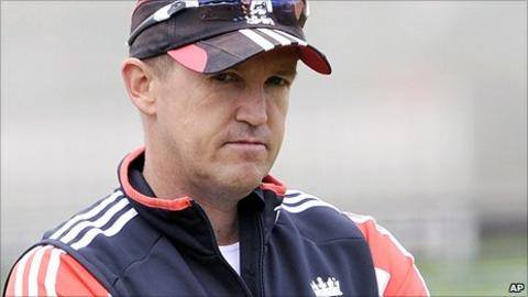 England team director Andy Flower