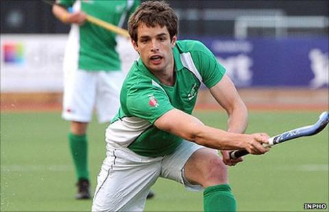 John Jermyn scored for Ireland against Australia