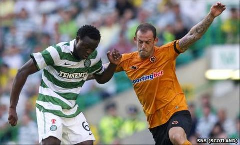 Victor Wanyama and Steven Fletcher