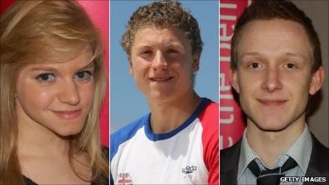 Emma Hollis (left), Roberto Pavoni (centre) and James Huckle