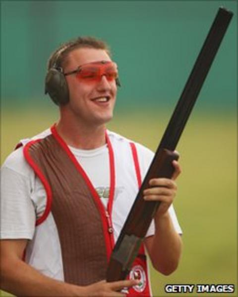Stevan Walton, clay pigeon shooter