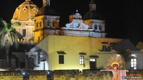 The Colombian city of Cartagena