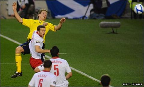 Scotland score against Wales