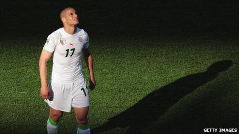 Wolverhampton Wanderers' Algerian midfielder Adlene Guedioura
