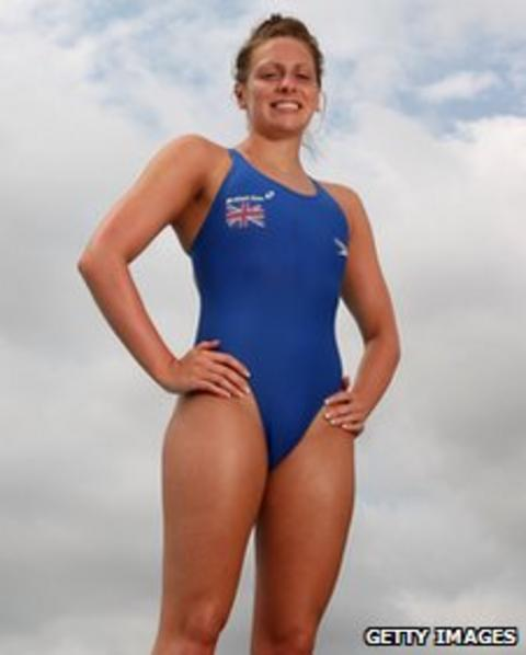 Sasha Matthews of the GB swimming team poses for a portrait in Larnaca, Cyprus