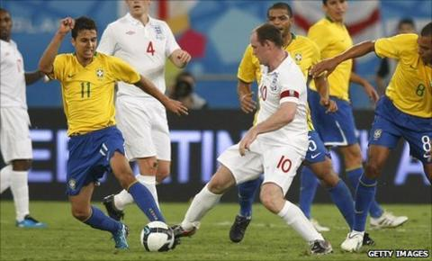 England Brazil