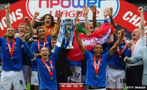 Chesterfield celebrate the League Two title