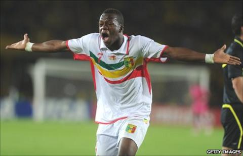 Mali under-20's Cheick Fantamady Diarra