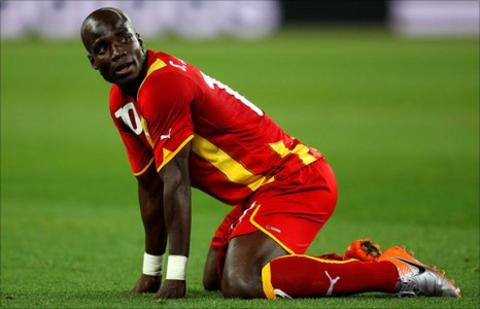 Stephen Appiah at the 2010 World Cup
