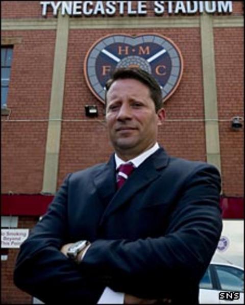 Paulo Sergio at Tynecastle