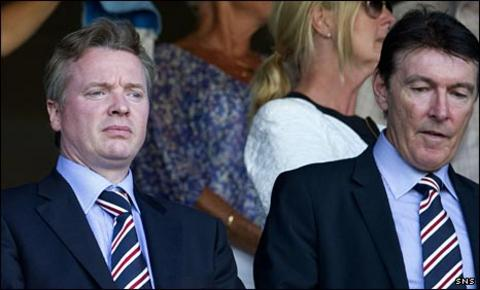 Craig Whyte and Gordon Smith