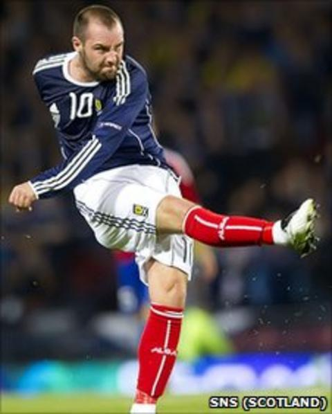 Kris Boyd wants to pull on the Scotland jersey again
