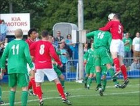 Jersey scoring in the 2011 Muratti Vase final