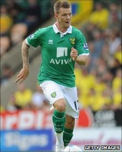Anthony Pilkington in action for Norwich