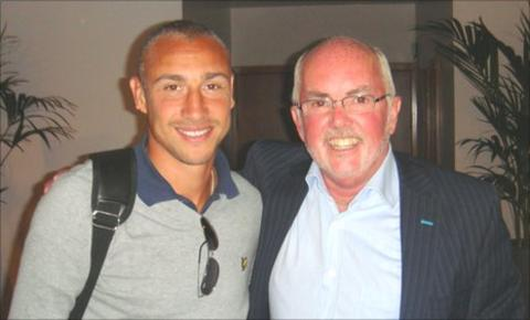 Henrik Larsson and Chick Young