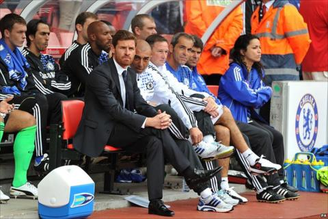Andre Villas-Boas in the suit