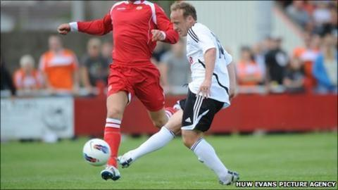 Swansea City midfielder Tom Butler
