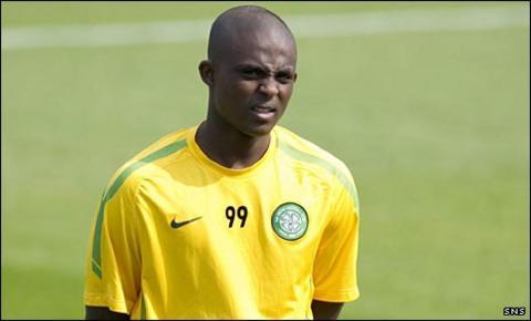 Celtic forward Islam Feruz