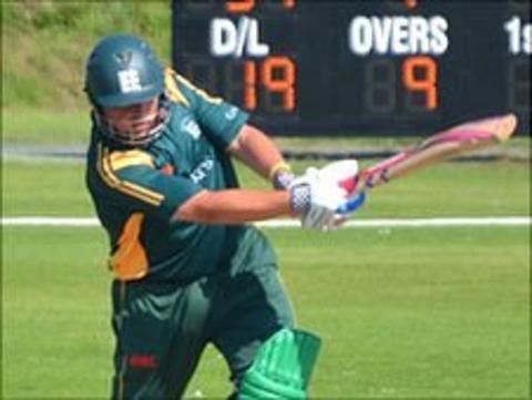 Guernsey cricket captain Stuart Le Prevost