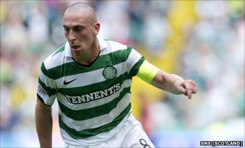 Celtic skipper Scott Brown