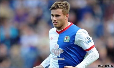 Blackburn striker David Goodwillie