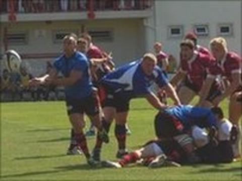 Jersey vs Loughborough in friendly