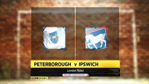 Highlights - Peterboro 7-1 Ipswich