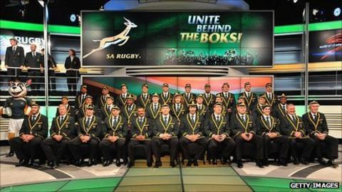 South Africa's 2011 World Cup squad