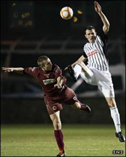 Scott Dalziel against the Pars