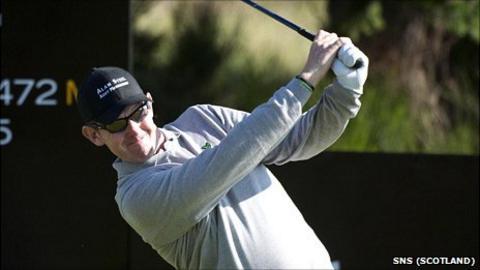 Scottish golfer Stephen Gallacher