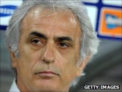 Algeria coach Vahid Halilhodzic