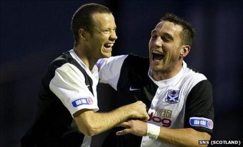 Eddie Malone and Gareth Wardlaw