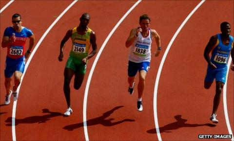 Andrew Steele at Beijing 2008