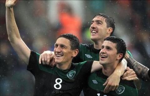 The Republic of Ireland are challenging strongly for qualification for Euro 2012