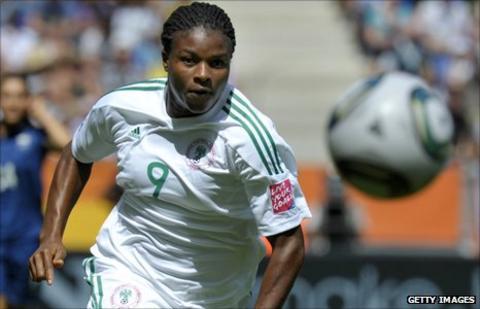 Nigeria's Desire Oparanozie