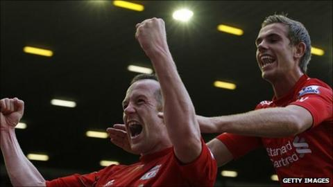 Charlie Adam and Jordan Henderson