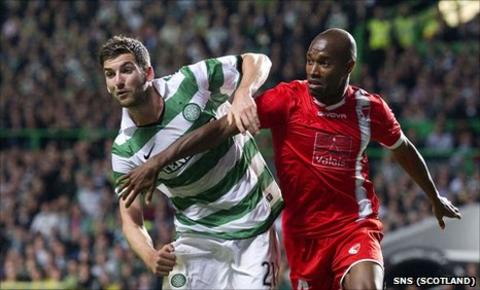 Charlie Mulgrew and Jose Goncalves