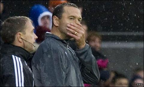 Hibs manager Colin Calderwood