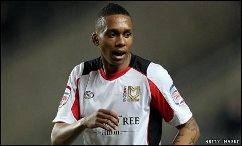 Fulham midfielder Keanu Marsh-Brown