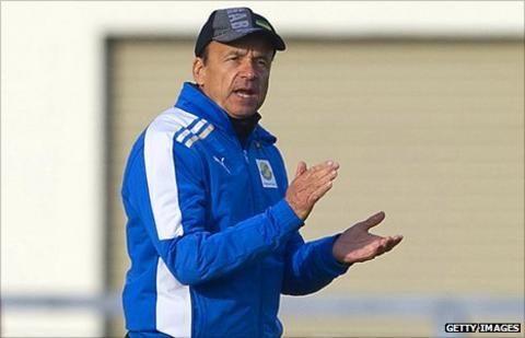 Gabon coach Gernot Rohr